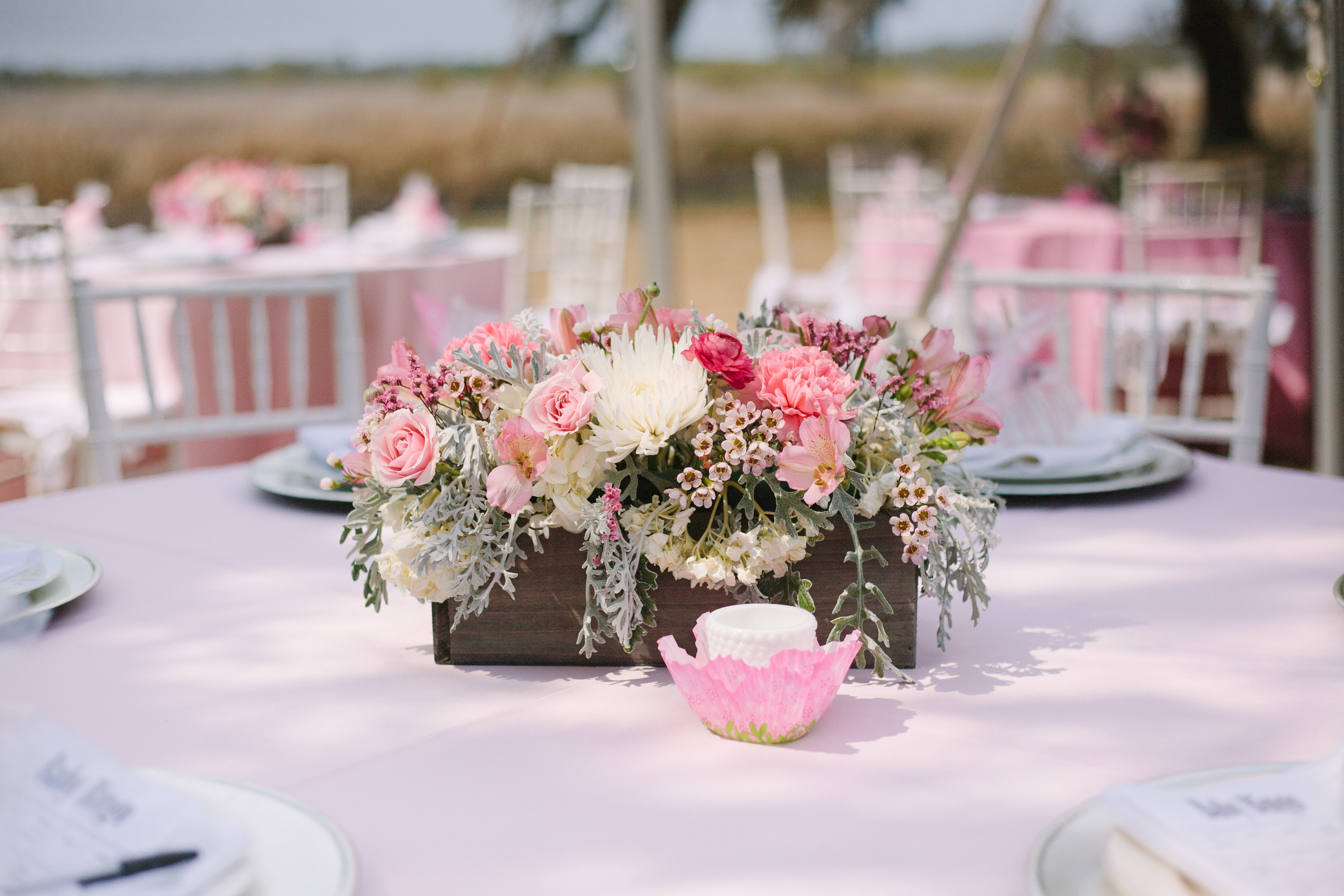 Centerpiece Ideas For Baby Shower Girl : Pretty in pink… a southern baby shower gigi noelle events